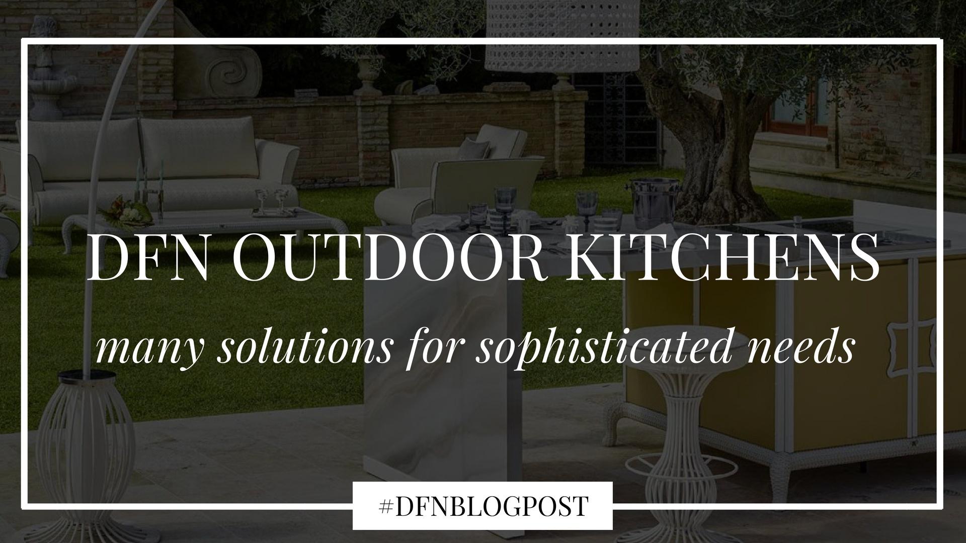 DFN outdoor kitchen