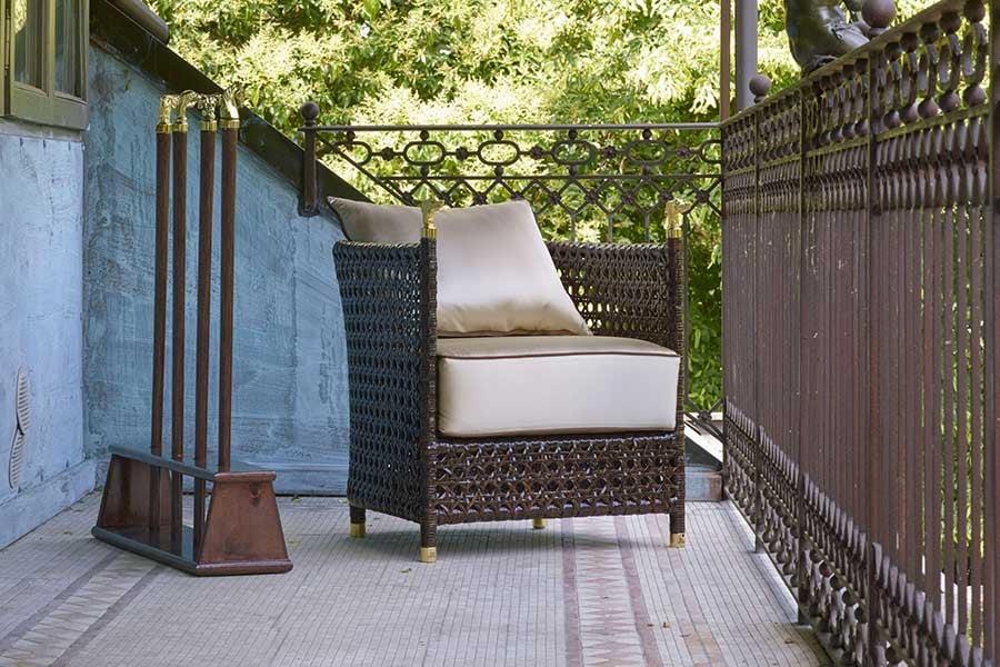 shaula brown armchair