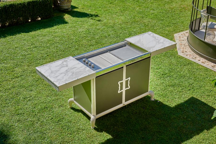 What are the most requested outdoor kitchen materials 7