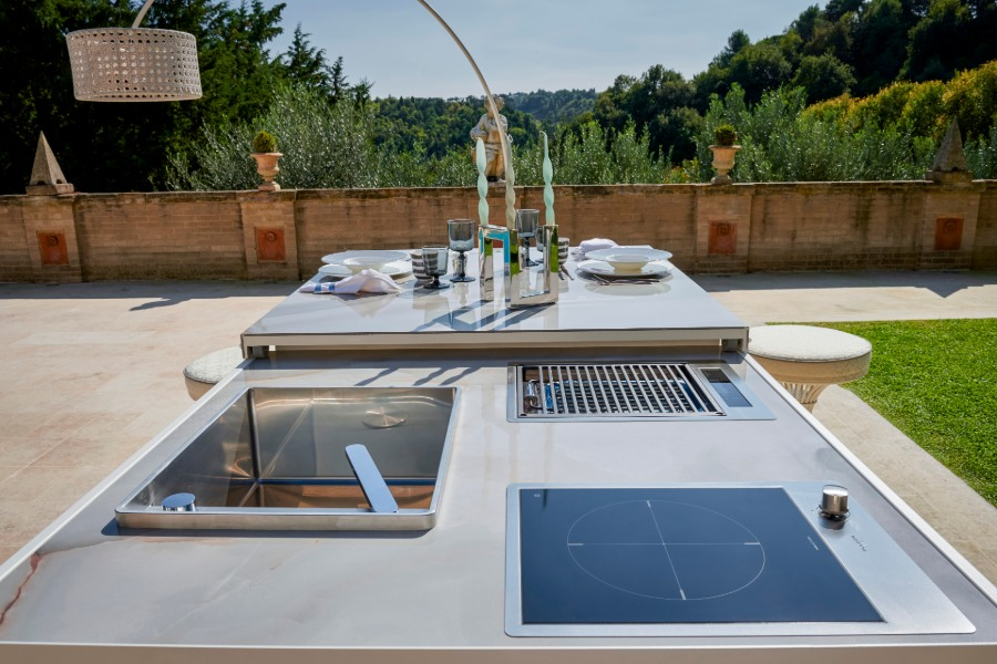 What are the most requested outdoor kitchen materials 4