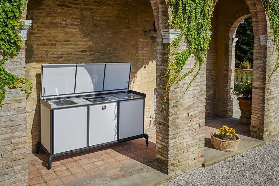 What are the most requested outdoor kitchen materials 8