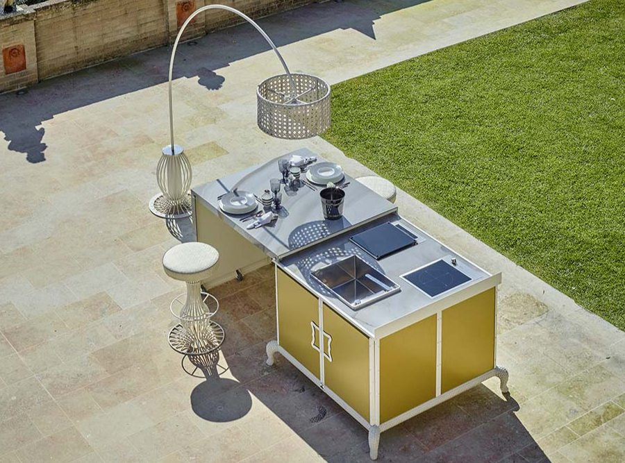 What is the best location for an outdoor kitchen 4