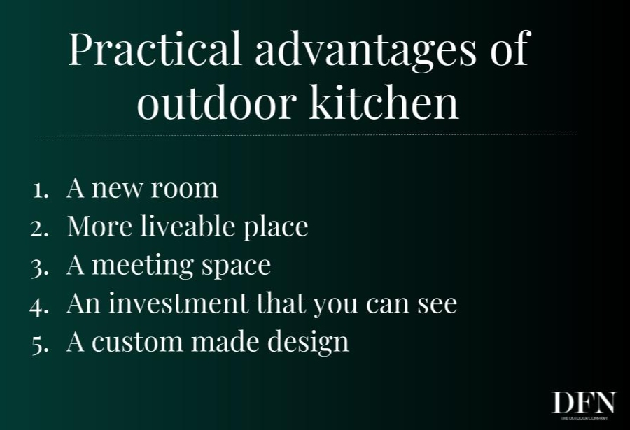 benefits of including an outdoor kitchen in your villa design project 4