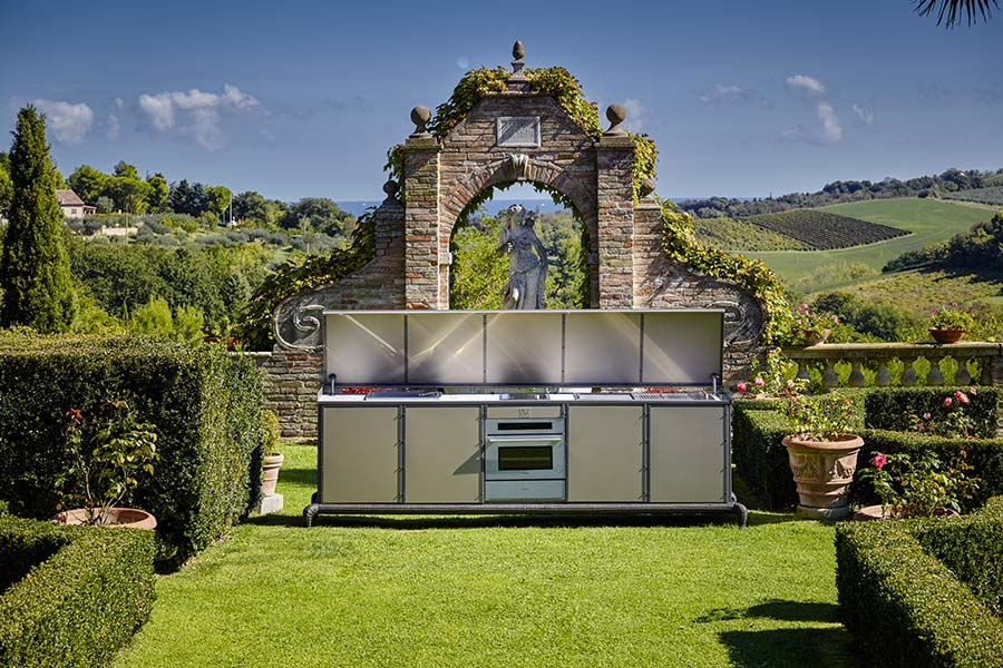 benefits of including an outdoor kitchen in your villa design project 3
