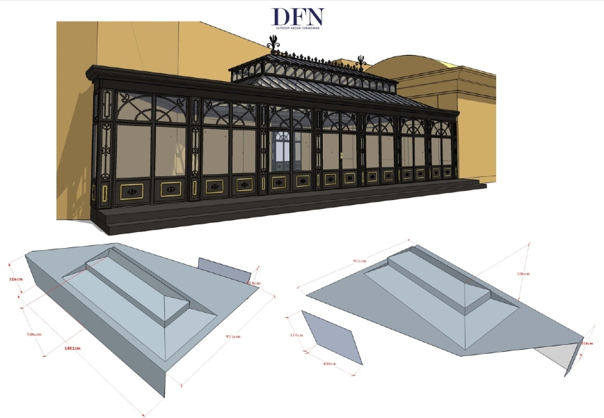 DFN experience: custom conservatory in Doha 10