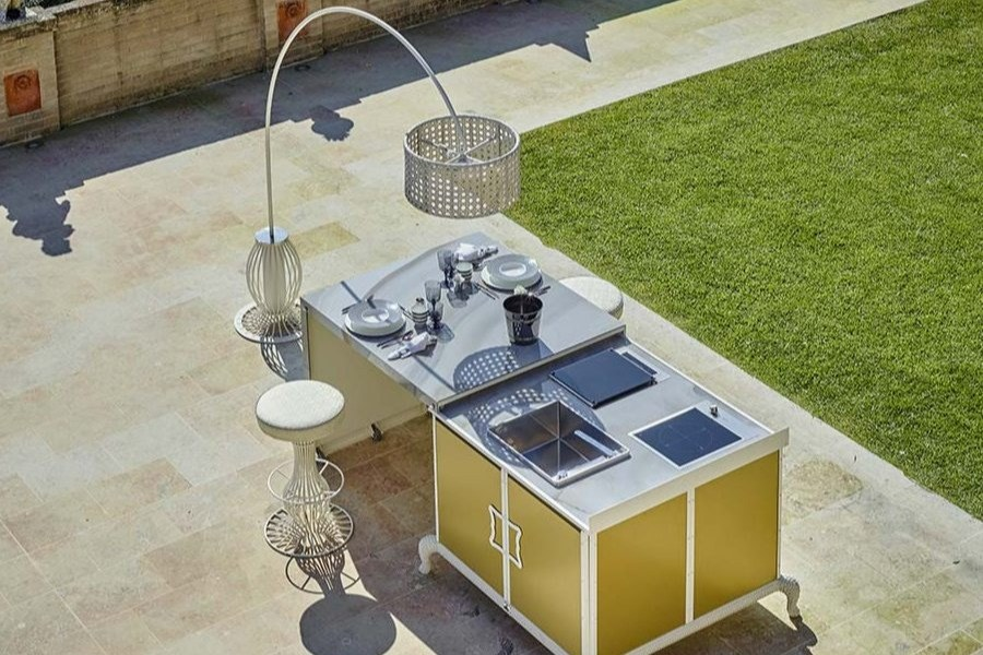 Give personality and exclusivity to luxury outdoor kitchen designs with DFN solutions 4