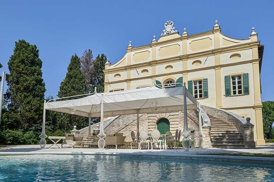 The best outdoor design process for your clients' villa Bioclimatic pergola outdoor villa