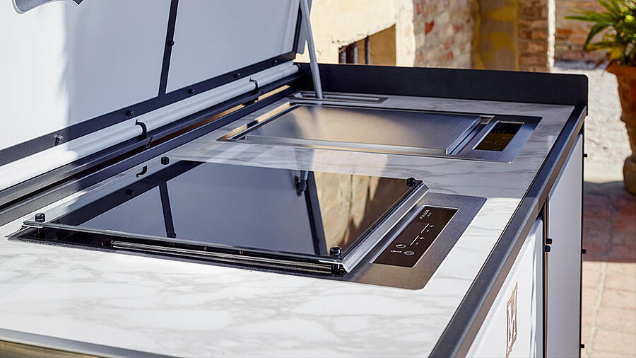 Give personality and exclusivity to luxury outdoor kitchen designs with DFN solutions 5