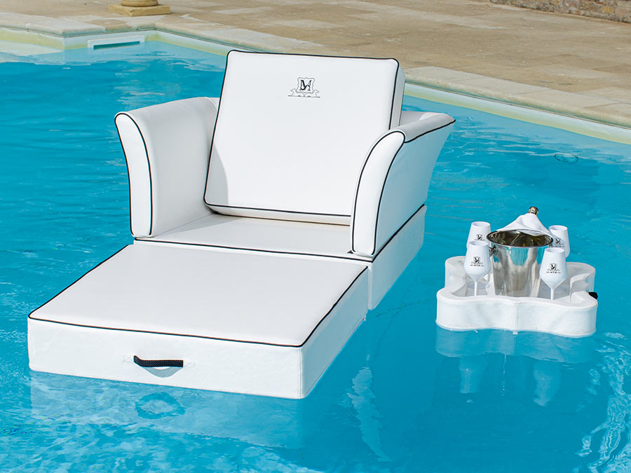 canopo floating sun beds