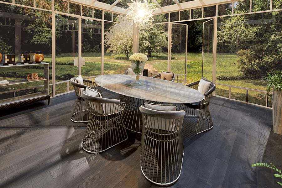 yucca dining space