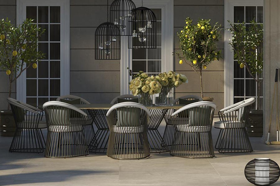 Yucca Table Chairs Outdoor
