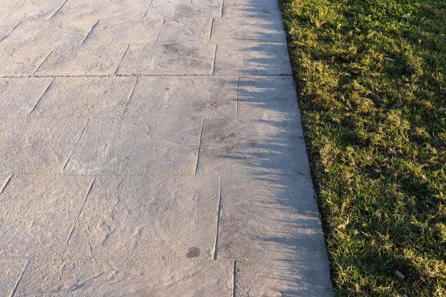 outdoor flooring options - concrete