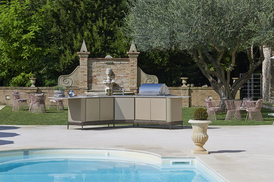 Outdoor kitchen designs: useful tips for customising an outdoor space 4