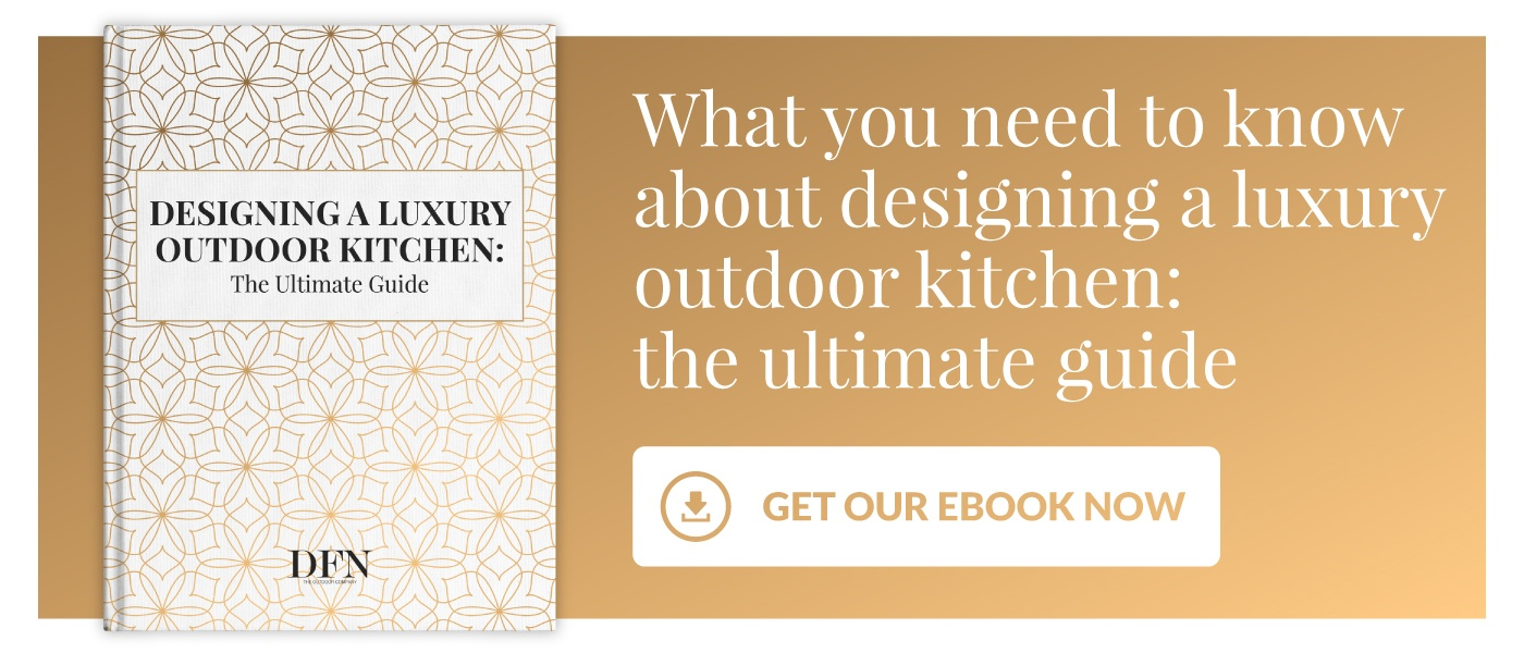 Design a luxury outdoor kitchen: the ultimate guide