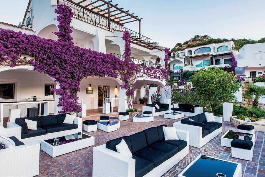 Hotels quality outdoor furniture-project