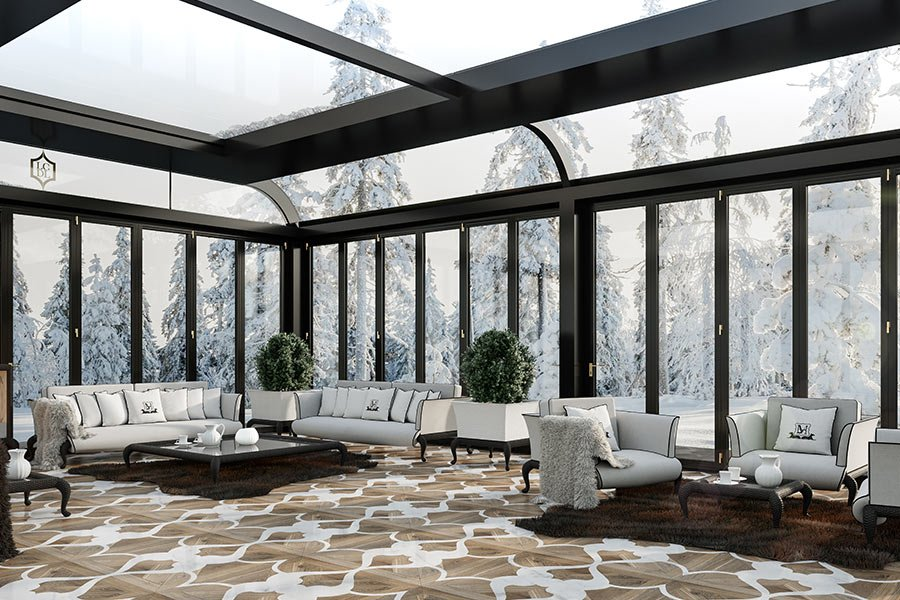 Choosing a modern conservatory: does the climate of the country where it's installed matter?
