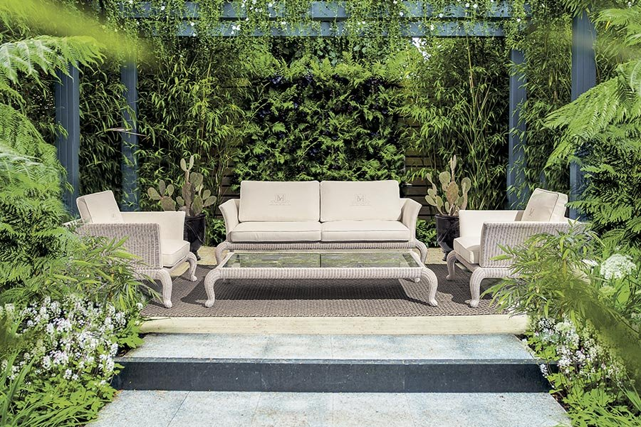 Designing an outdoor lounge with DFN: what you need to know